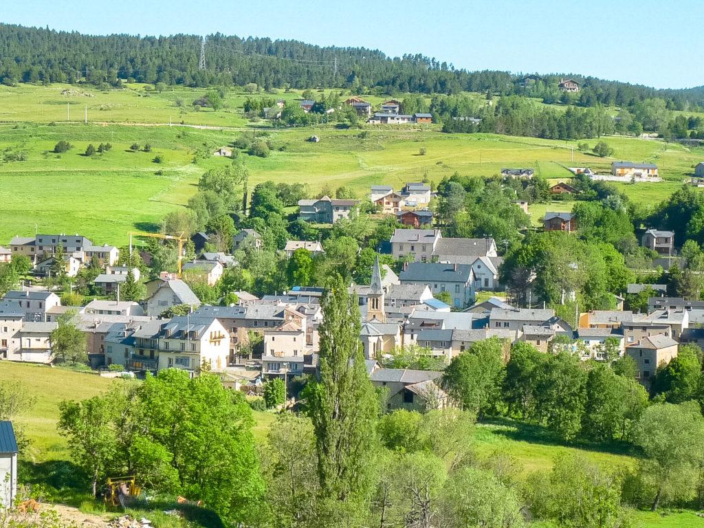 La Cabanasse-Vue du village