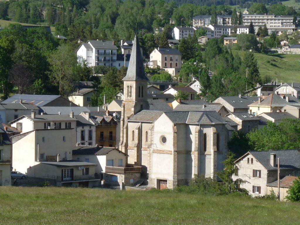 La Cabanasse-Vue de l'Eglise de l'Assomption