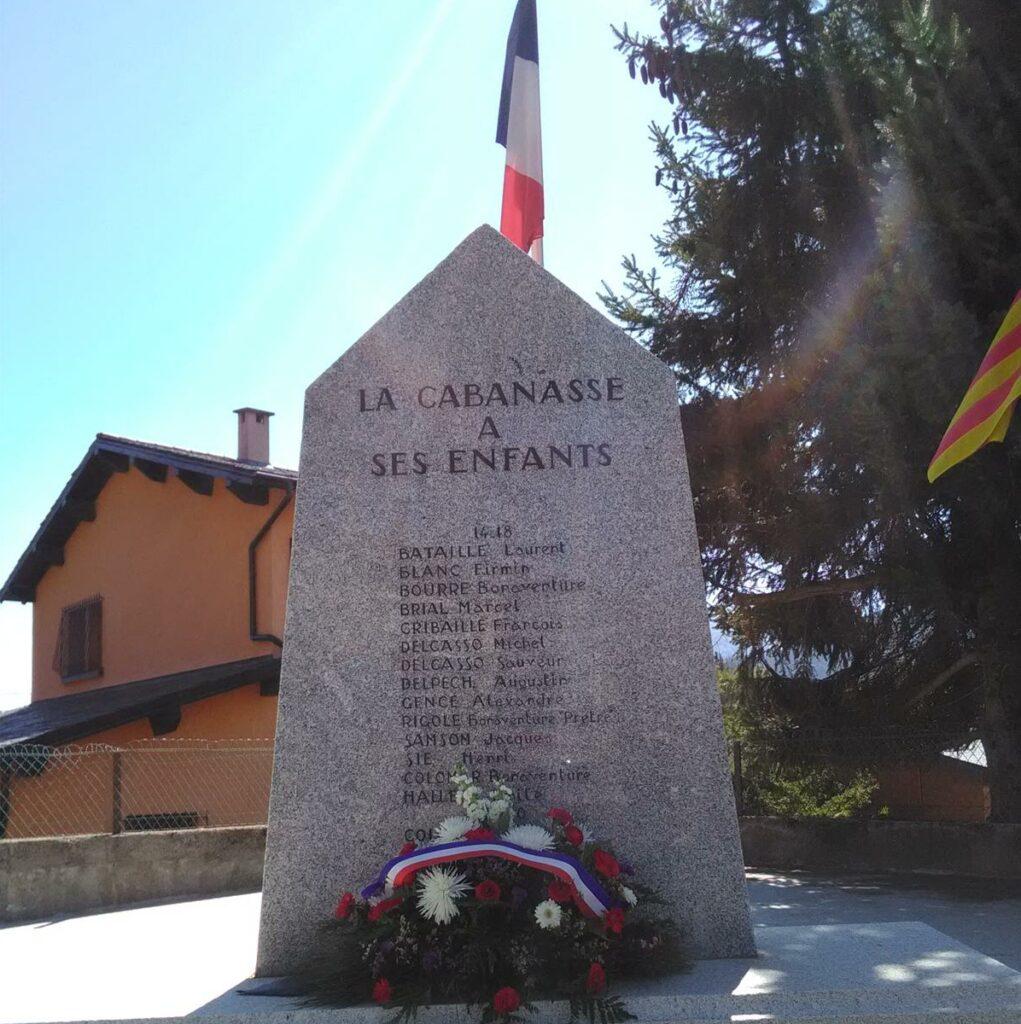 La Cabanasse-Cérémonie du 8 mai 2021 Monument aux morts